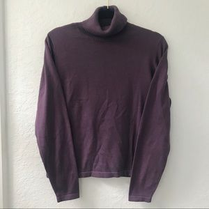 Woolrich Amethyst Turtleneck Sweater